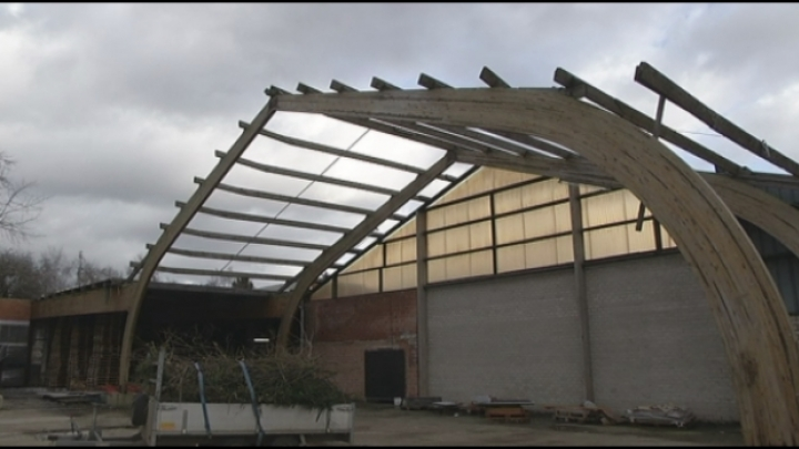 Stormschade in Mol en Heist-op-den-Berg