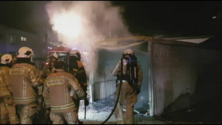 Garagebox in brand gestoken: dader opgepakt