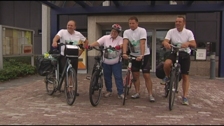 Kempense kankerpatiënten fietsen 500 kilometer