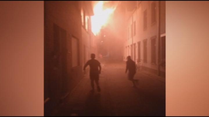 Zware woningbrand in centrum van Mechelen