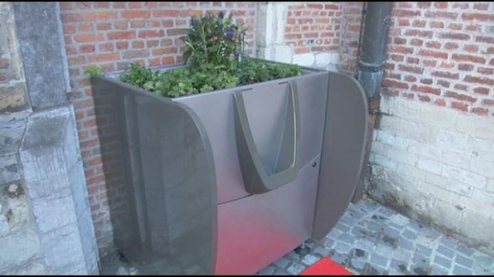 Greenpee of plassen in de bloembak