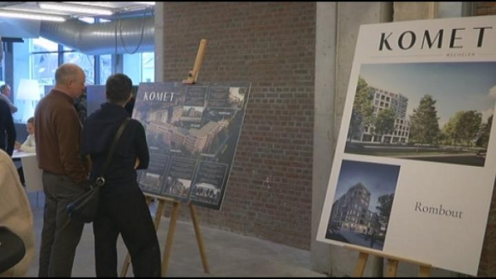 Meer dan 700 geïnteresseerden voor Mechels bouwproject 'Komet'