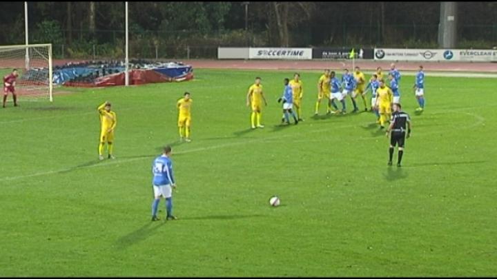 Turnhout wint met 2-1 van Duffel en pakt zo zijn 2de zege van het seizoen
