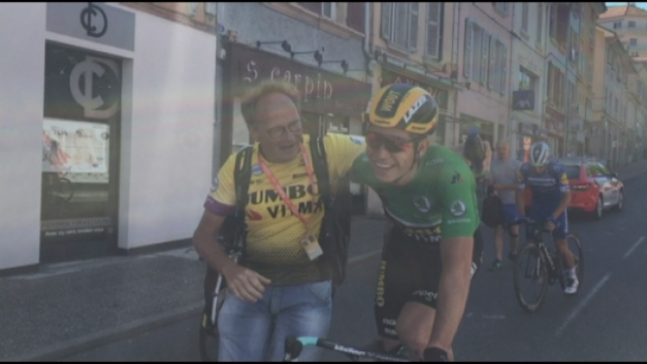 Wout Van Aert wint groene trui in Dauphiné