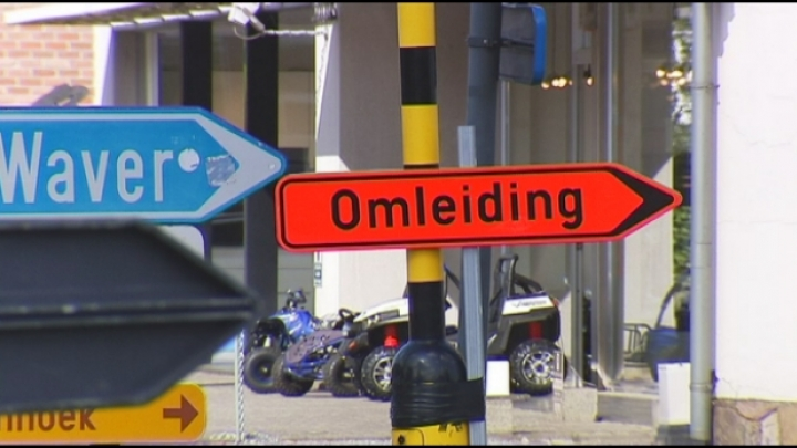 Verkeerschaos in Putte door wegenwerken Mechelbaan
