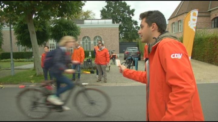 Veilig met de fiets dankzij gratis lichtjes