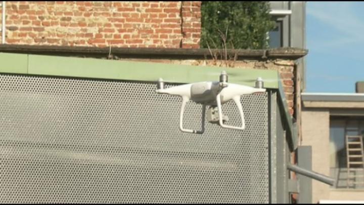 Mechelen laat drone stadsgebouwen vanuit lucht controleren