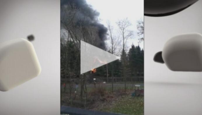 Brand vernielt chalet in Lichtaart