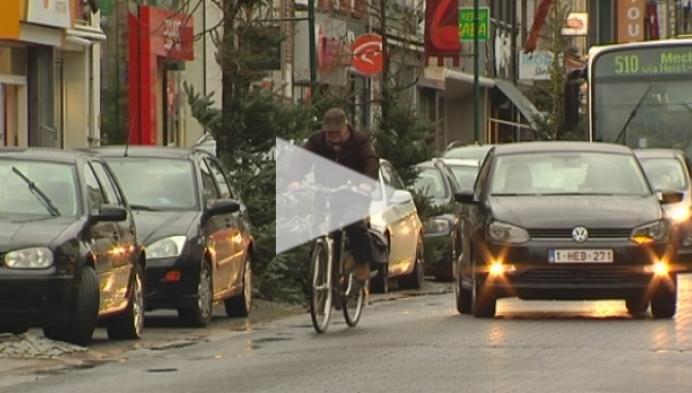 Helft minder bussen door Heistse Bergstraat