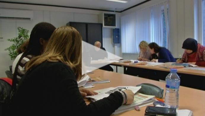 Paviljoenklassen voor centrum voor volwassenenonderwijs