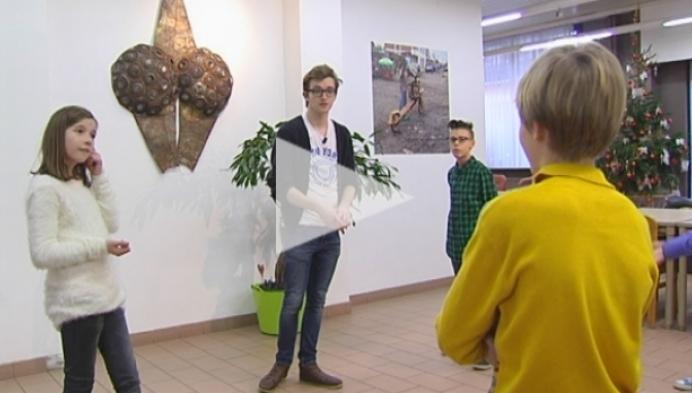 18-jarige Steff Wuyts danscoach voor musical 'Kinderen voor Kinderen'