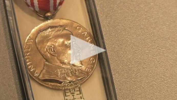 Putse krijgt medaille voor heldendaad
