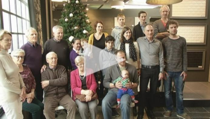 Familie Jacobs viert al 75 jaar kerst