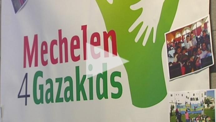 Mechelaars zamelen geld in voor weeskinderen in Gaza