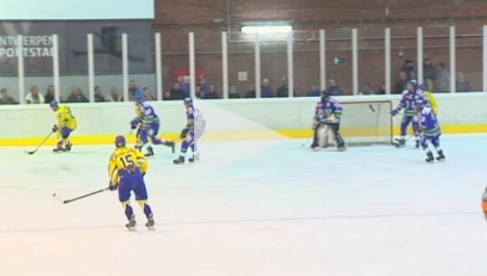 IJshockey: Phantoms Deurne - Olympia Heist 6-3