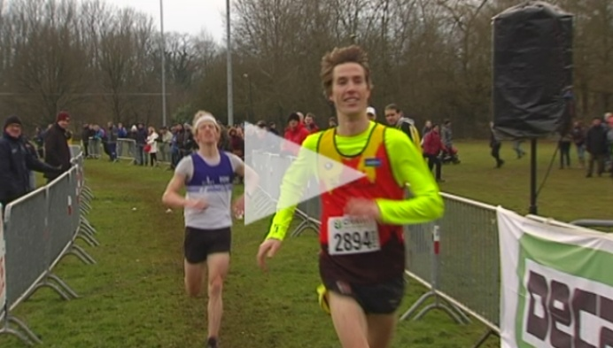Nick Van Peborgh  wint cross in Herentals