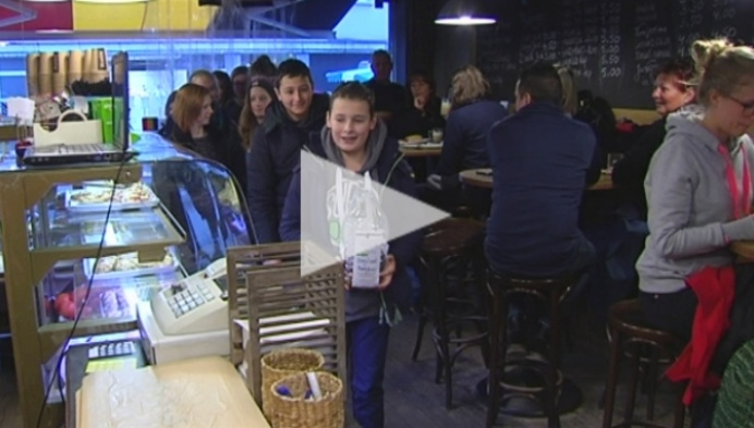 Hof Van Riemen wil wereldrecord centjestapijt verbreken