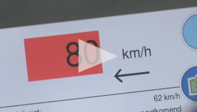 Bestuurders lappen snelheidsbeperking bij werken aan hun laars