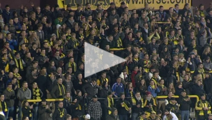 Liersesupporters boos