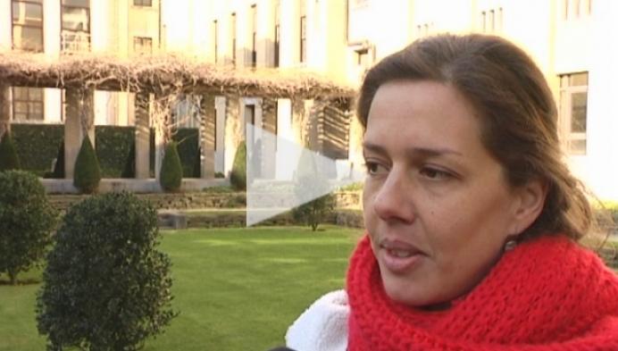 Eveline Cleynen is net terug uit Ebola-gebied voor Artsen zonder Grenzen