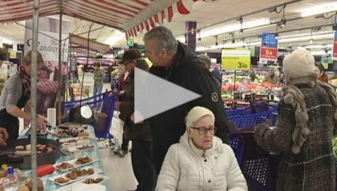 Streekproducten in Carrefour Turnhout