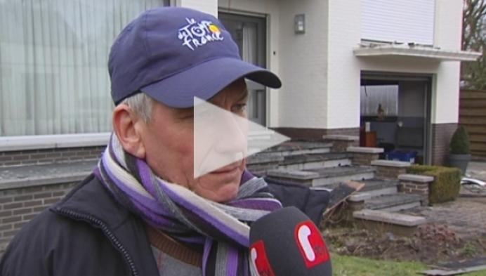 Man zwaar aangeslagen door brand in woning