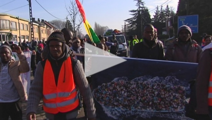 250 sans-papiers passeren door Mechelen en Willebroek
