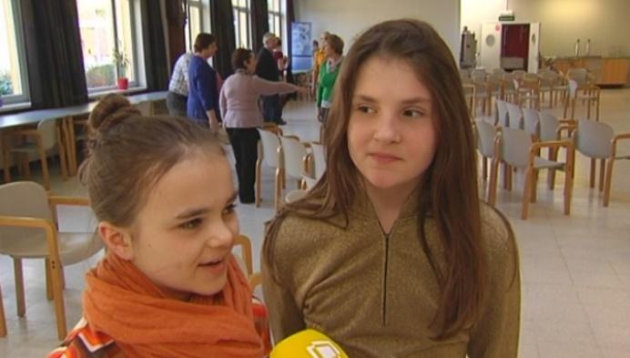 Mechelse leerlingen zetten rusthuis op stelten