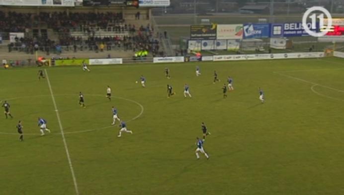 Geel klopt Racing Mechelen