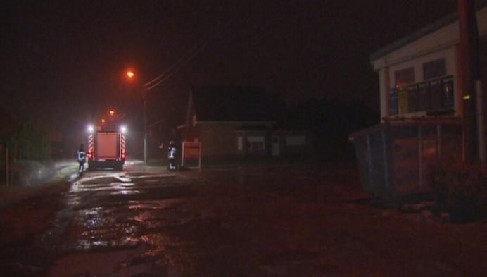 Brand vernielt loods in Heist-op-den-Berg