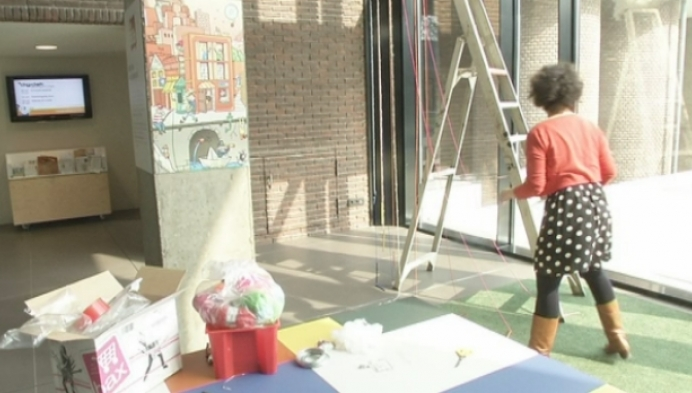 Alle zintuigen prikkelen tijdens kinderkunstenfestival