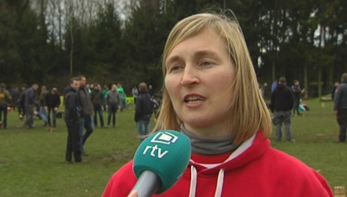 Internationaal Kubb-tornooi in Olen