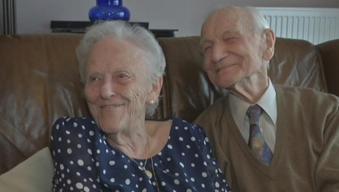 Lodewyk en Maria zijn 70 jaar getrouwd