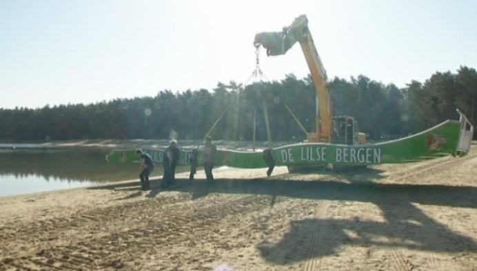 Nieuwe glijbaan in de Lilse Bergen