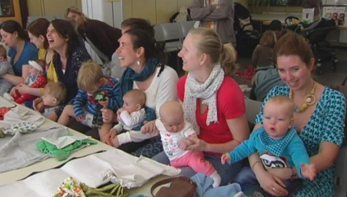 Mechelen neemt deel aan Diaper Change