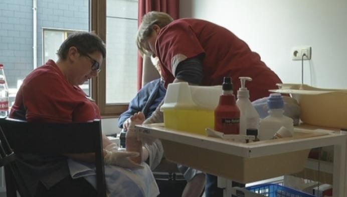 Voetzorg bij bewoners met diabetes in Ten Kerselaere