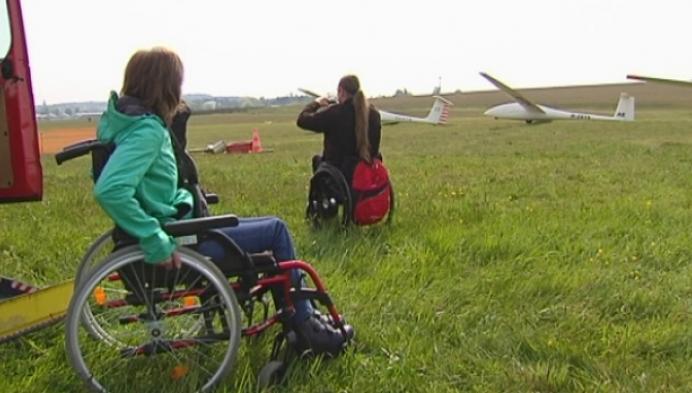 Luchtdoop voor mensen met een handicap