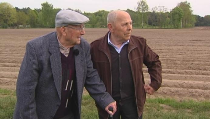 Guust vertelt verhaal van gesneuvelde vriend, Fons in WOII