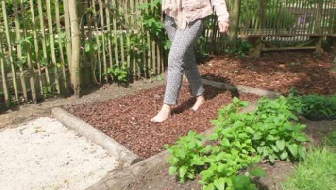 Tivolipark in Mechelen pakt uit met Blote voetenpad