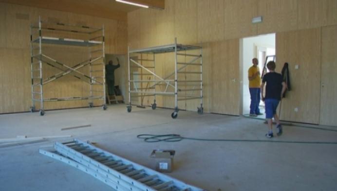 Ontmoetingscentrum Oosterlo in volle opbouw
