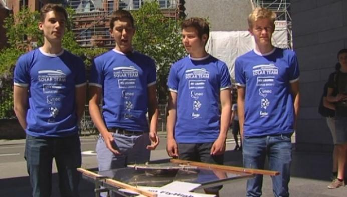 Jongeren inventief met zonne-energie