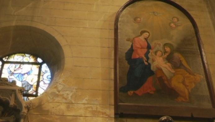 Succesvolle restauratie van schilderij in kerk Onze-Lieve-Vrouw-Waver