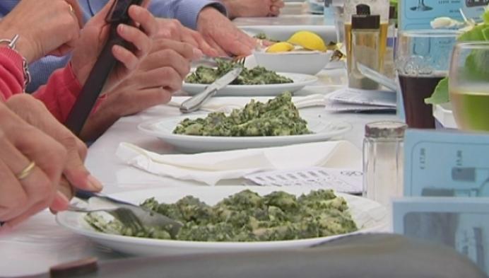 """""""Paling in 't groen"""" op het menu in Mariekerke"""