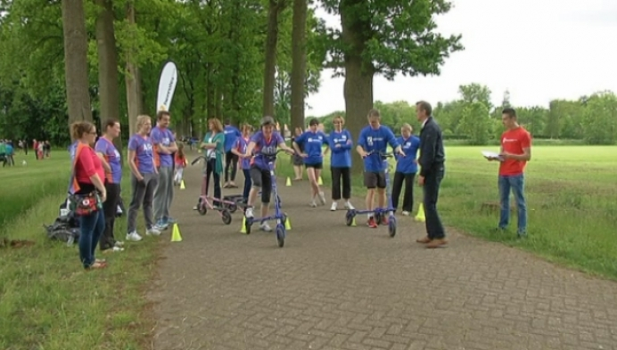 Sporten voor het goede doel tijdens 'Moved to Help'