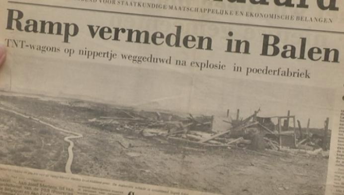 Brandweerman herinnert aan 40 jaar ontploffing munitiefabriek