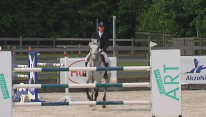 Jos Verlooy aan de slag op jumping Herselt
