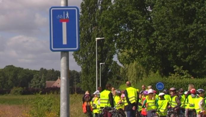 Alternatieve fietsverbinding voor schoolkinderen