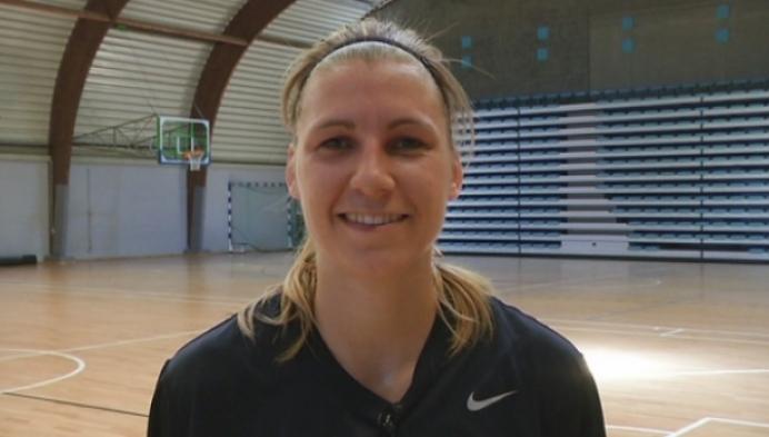 Basketster Sara Leemans naar de Europese Spelen