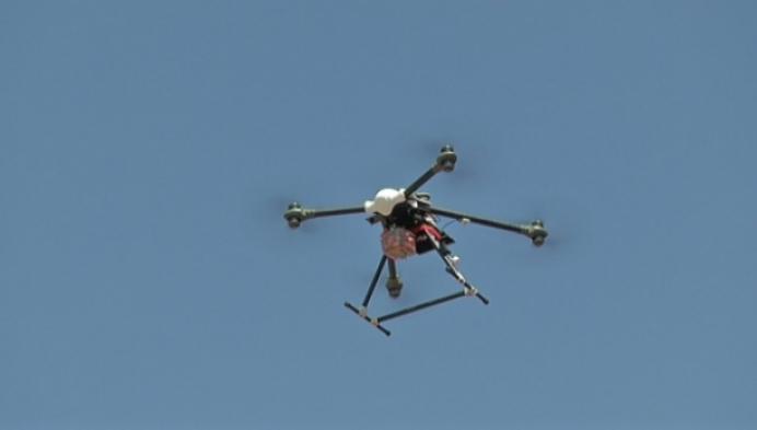 Drones brengen streekproducten
