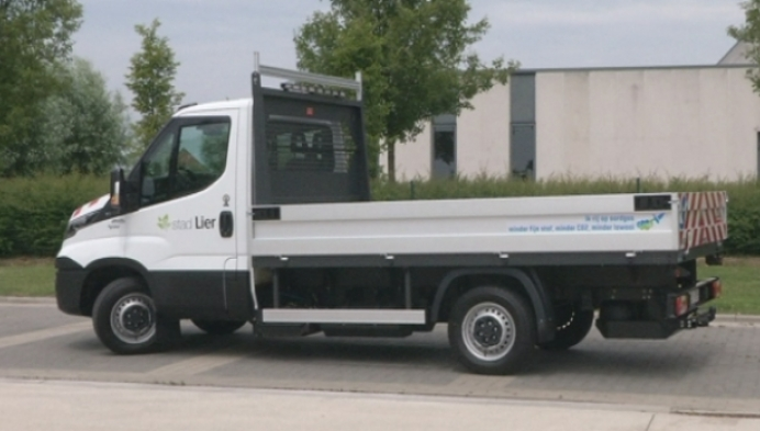 Lier stelt dienstwagen op aardgas voor